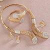 Gold Plated Arabic Style Jaali work Jewellery Set
