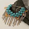 Gorgeous Blue Beads Bracelet
