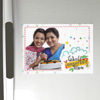 Greatest Mom Personalized A4 Size Fridge Magnet