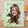 Green Butterfly Personalized Photo Frame