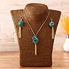 Green stone Fashion Necklace set
