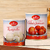 Haldiram's Rasgulla and Gulab Jamun Tin - 1000 gms Each