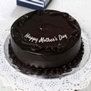 Half Kg Round Shaped Dark Chocolate Cake