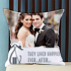 Happily Ever After Personalized Wedding Cushion