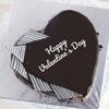 Heart Shape 1.5 Kg Chocolate Cake