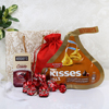 Hersheys Kisses with Chocolate Shots & Truffles in a Goodie Bag