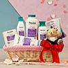 Himalaya Herbal Baby Care Kit in a Jute Basket