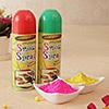 Holi Gulal and Spray Combo