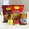 Holi Gulal with Sweets and Namkeen