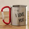 I Love You Personalized Steel Mug