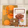 Ik Onkar Metallic Rakhi with Almonds in Gift Bag