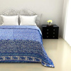 Intricate Royal Blue Quilt