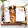 Jovan Musk Cologne & Deodorant Spray Hamper for Her