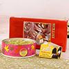 Kaju Pudina Dalmoth & Mewa Cubes with Homemade Chocolate Hamper