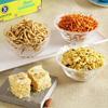 Kanha 250g Soan Papdi & Assorted Namkeen Gift Hamper