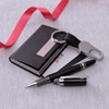 Keychain With Card Holder & Pen Hamper