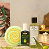 Khadi Herbal Face Wash with Neem Oil & Candy Towel in Gift Bag