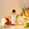 Khadi Herbal Skin Care with Towel Set in Gift Bag