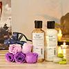 Khadi Moisturising Lotion with Body Massage Oil in Gift Bag