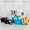 Kids Rakhi with Ludo and 100 Gms Chocolate Tub with Toy