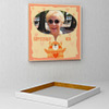 Kitty love for Mom Personalized Birthday Canvas