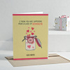 Lack of Vitamin Me Personalised Miss You Greeting Card