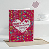 Laugh That Make Me Crazy  Personalized Valentine Greeting Card