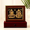 Laxmi Ganesha 22 Carat Gold Wall Decor