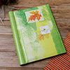Leaf & Butterfly Designed Personalized Photo Album