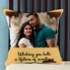 Lifetime of Sweetness Personalized Wedding Cushion