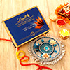 Lindt Chocolate with Bhai Dooj Thali