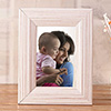 Line Textured Personalized Photo Frame