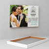 Lovable Birds Personalized Wedding Canvas