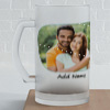 Love Is In The Air Personalized Anniversary Beer Mug