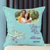 Love is in the Air Personalized Anniversary Cushion