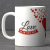 Love is in the Air Personalized Mug