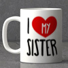 Love My Sister Mug