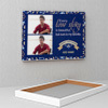 Love Story Personalized Birthday Canvas