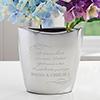 Love You Longer Personalized Vase