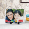 Love You Mom Personalized Stone Photo Frame