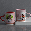 Lucky To Have You Personalized Anniversary Mug Set