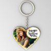 Magic is Something You Make Personalized Heart Shaped Key Chain