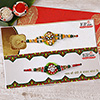 Marvelous Bead Work Rakhi Set