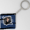 Message Pop up Photo Square Shaped Key chain