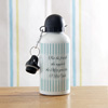 Metal Sipper Bottle For Mom Personalized With 1 Photo Contains 600 Ml Liquid