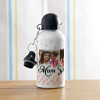 Metal Sipper Bottle For Mom Personalized With 3 Photo Contains 600 Ml Liquid