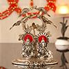 Metallic Lakshmi Ganesha Idol