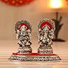 Metallic Laxmi Ganesh Idol