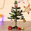 Mini Foldable Christmas Tree with Decoratives