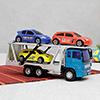 Mini Truck Series Car Carrier Trailer Vehicle Set